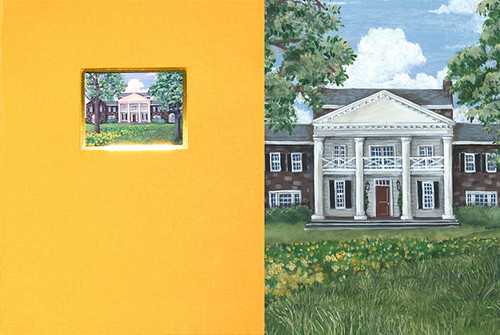 LegacyPop Special Edition - Round Hill Farm Painting by Chuck Fischer