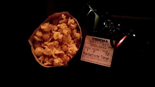 """Popcorn zum 3D-Film """"Phantastische Tierwesen und wo sie zu finden sind""""  (im Kino)"""