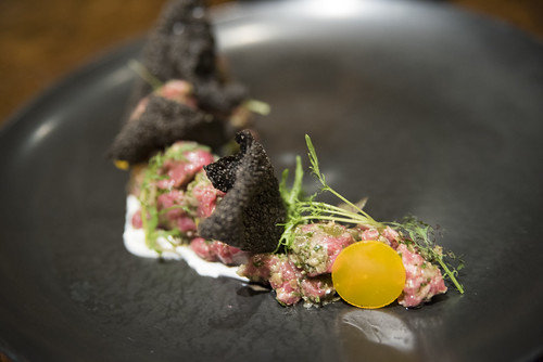 Dry-Aged Steak Tartare, Bourbon Steak, The Westin St. Francis, San Francisco
