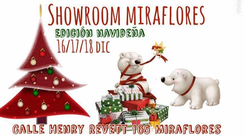 Showroom Miraflores Navidad 2016
