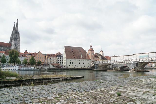 Dom und steinerne Brücke Regensburg