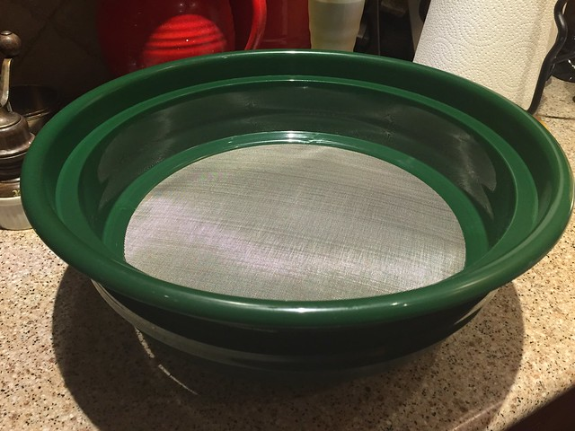 "Gold Rush Sifting Classifier (1/50"" Mesh) Screen Sieve"