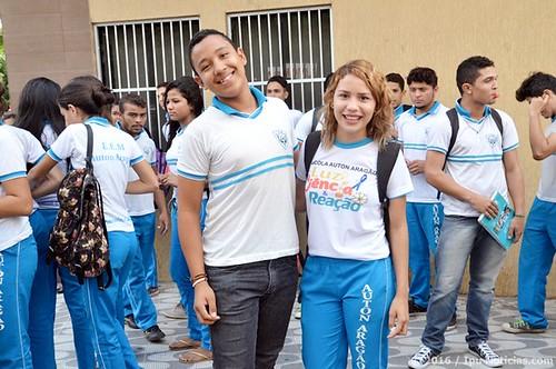 Escola Auton Aragão - Comemoração