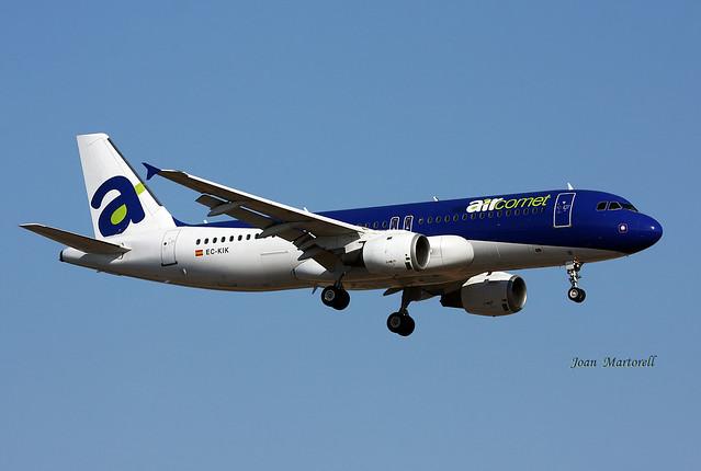 Air Comet EC-KIK Airbus A320-211 PMI 07-2009