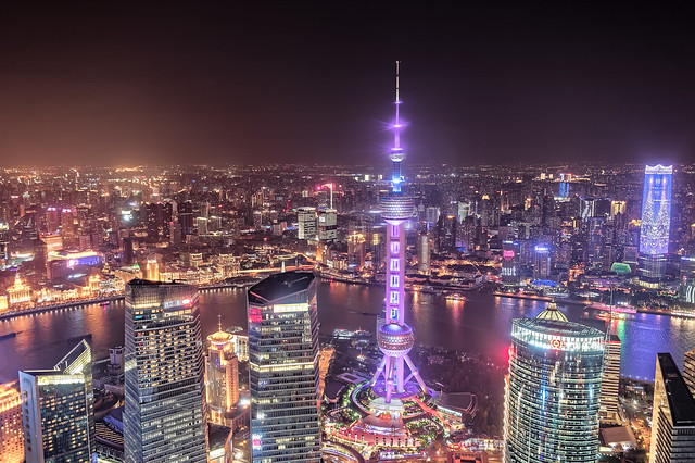 Night of Shanghai