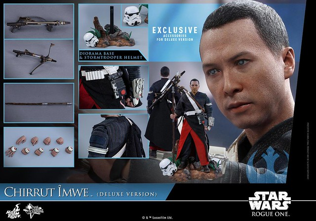 Rogue One Chirrup Iwe 1/6 (Deluxe Version)