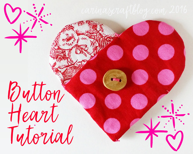 Button Heart Tutorial