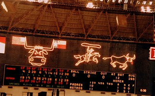 Home Run Lights in Astrodome | by danagraves
