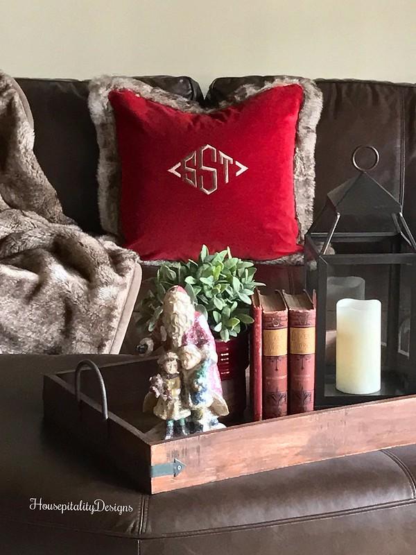 Pottery Barn Fur Throw-Pottery Barn Fur Pillow-Housepitality Designs
