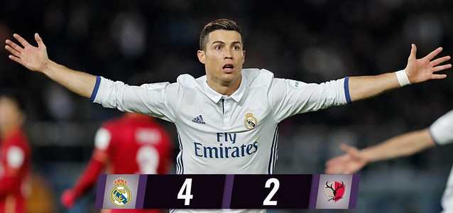 Mundial de Clubes (Final): Real Madrid 4 - Kashima Antlers 2