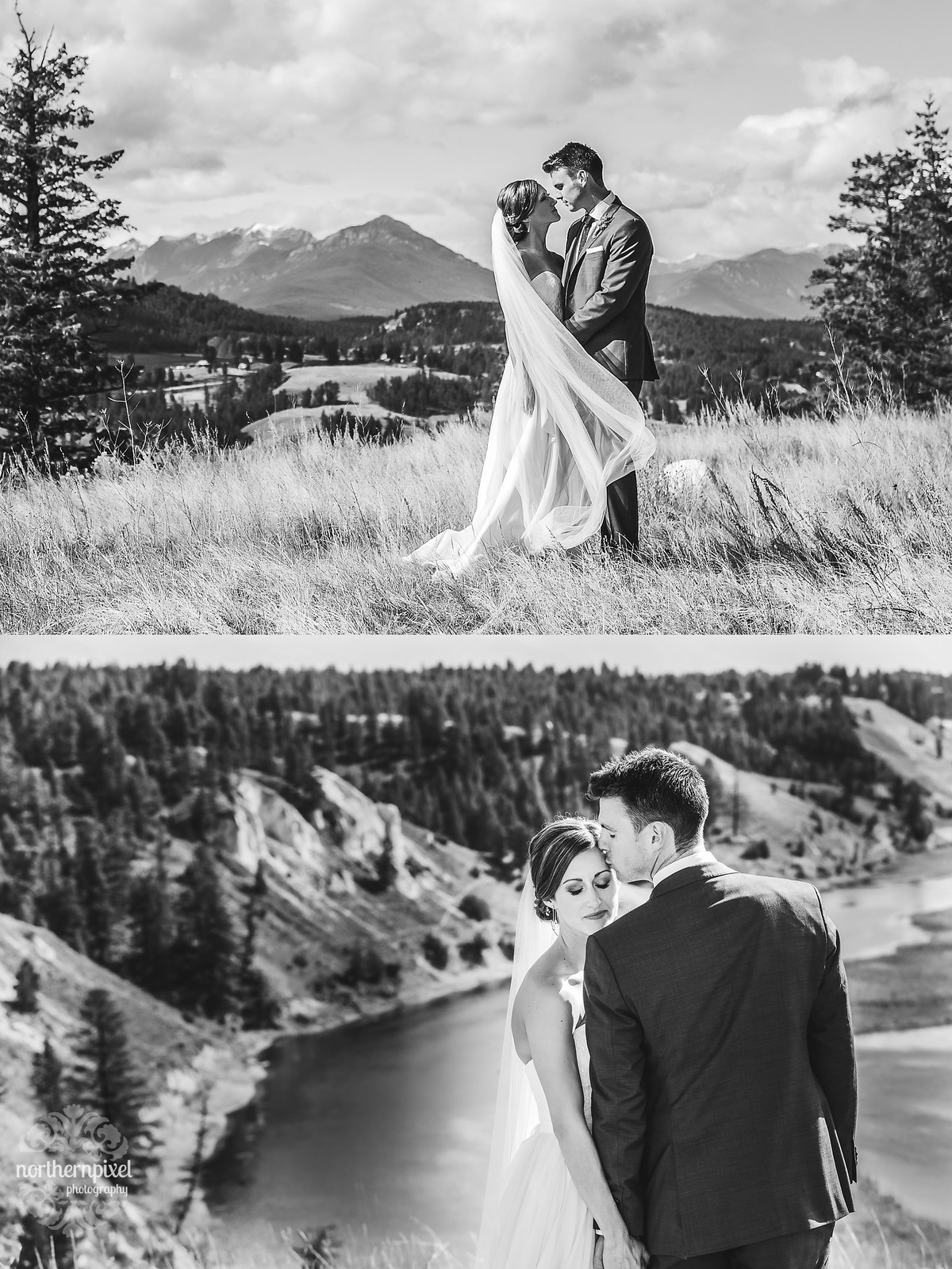 British Columbia Wedding Photographers Rocky Mountain Elopement