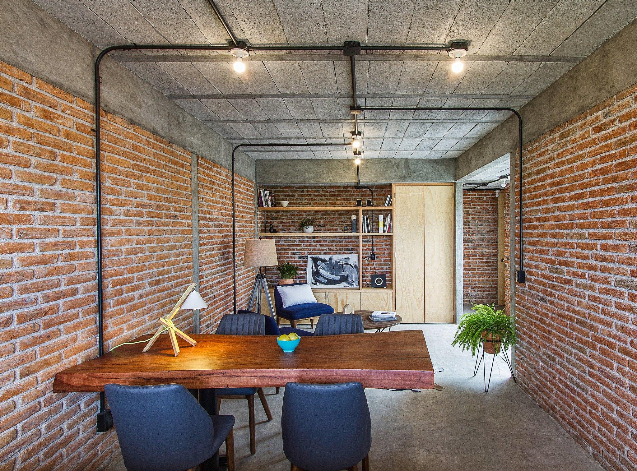Mexican studio created by Intersticial Arquitectura Sundeno 6
