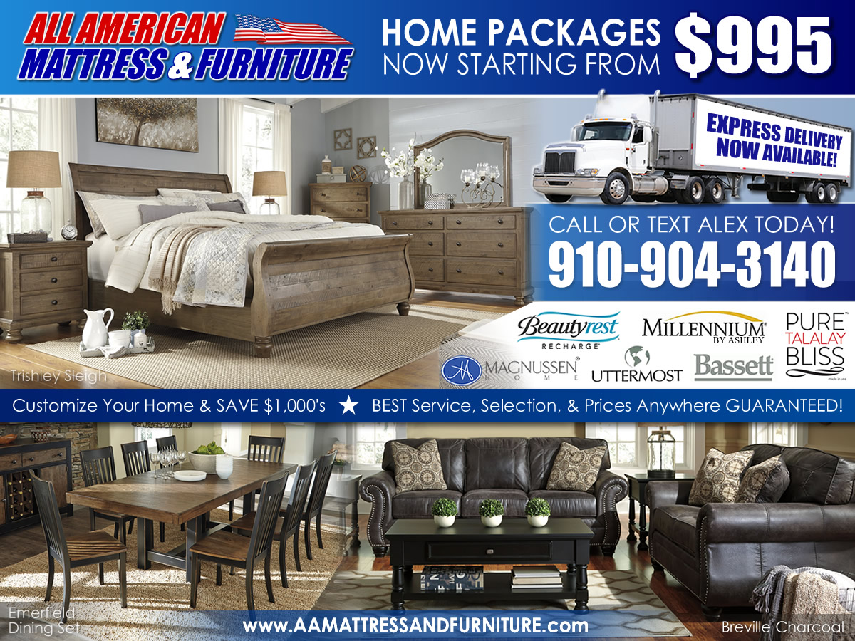 2017 specials all american mattress furniture for All american furniture and mattress aberdeen nc