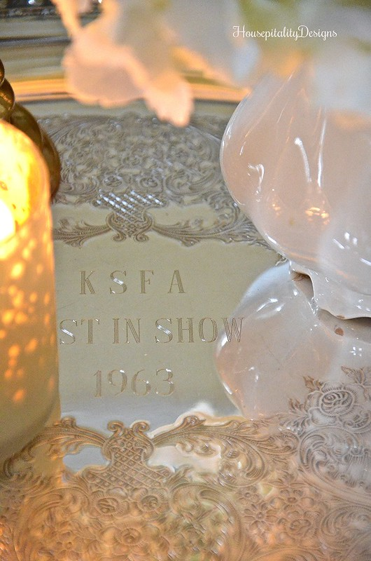 Silver Trophy Tray-Housepitality Designs