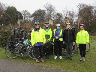 Clarion ride on 11 December. Photo by Julian Arkell