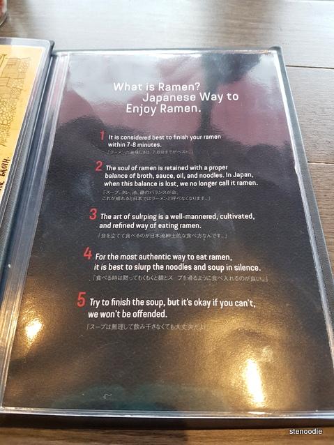 proper way to eat ramen