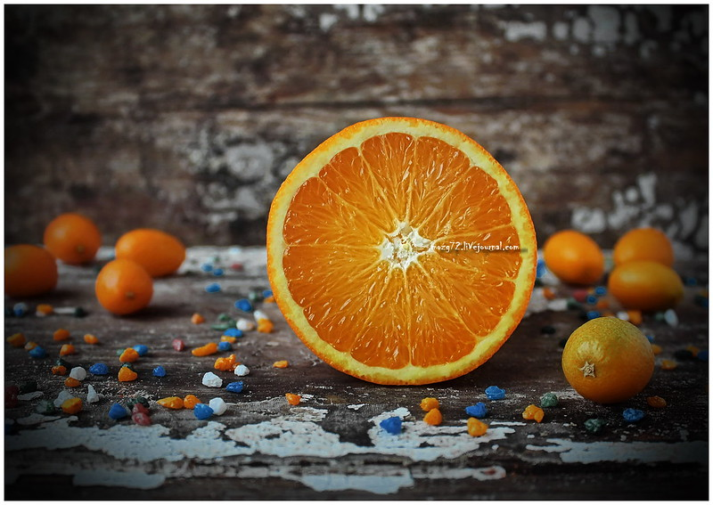 ...love the orange