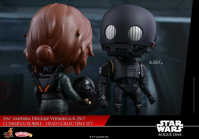 K-2SO Cosbaby by Hot Toys