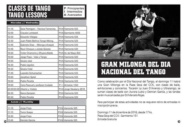 Revista Punto Tango 122 Diciembre 2016 - 4