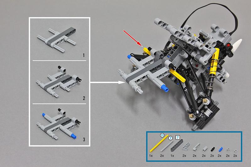 Lego Moc 5979 Lego Technic Snowmobile With Sbrick Technic 2016