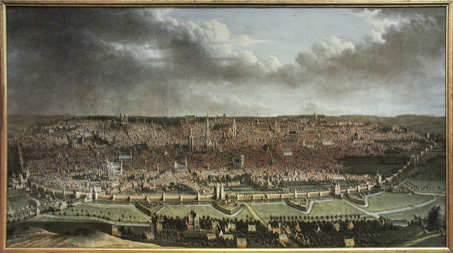 View of Brussels, Jan Baptist Bonnecroy, 1618-1665