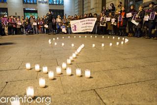 Zgz contra feminicidios 16122015 Foto Pablo IBáñez ARAINFO (2)