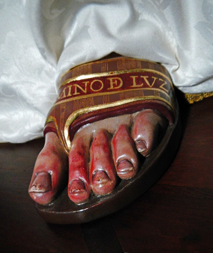 Viviero, Spain: Bloody Feet of the Madonna