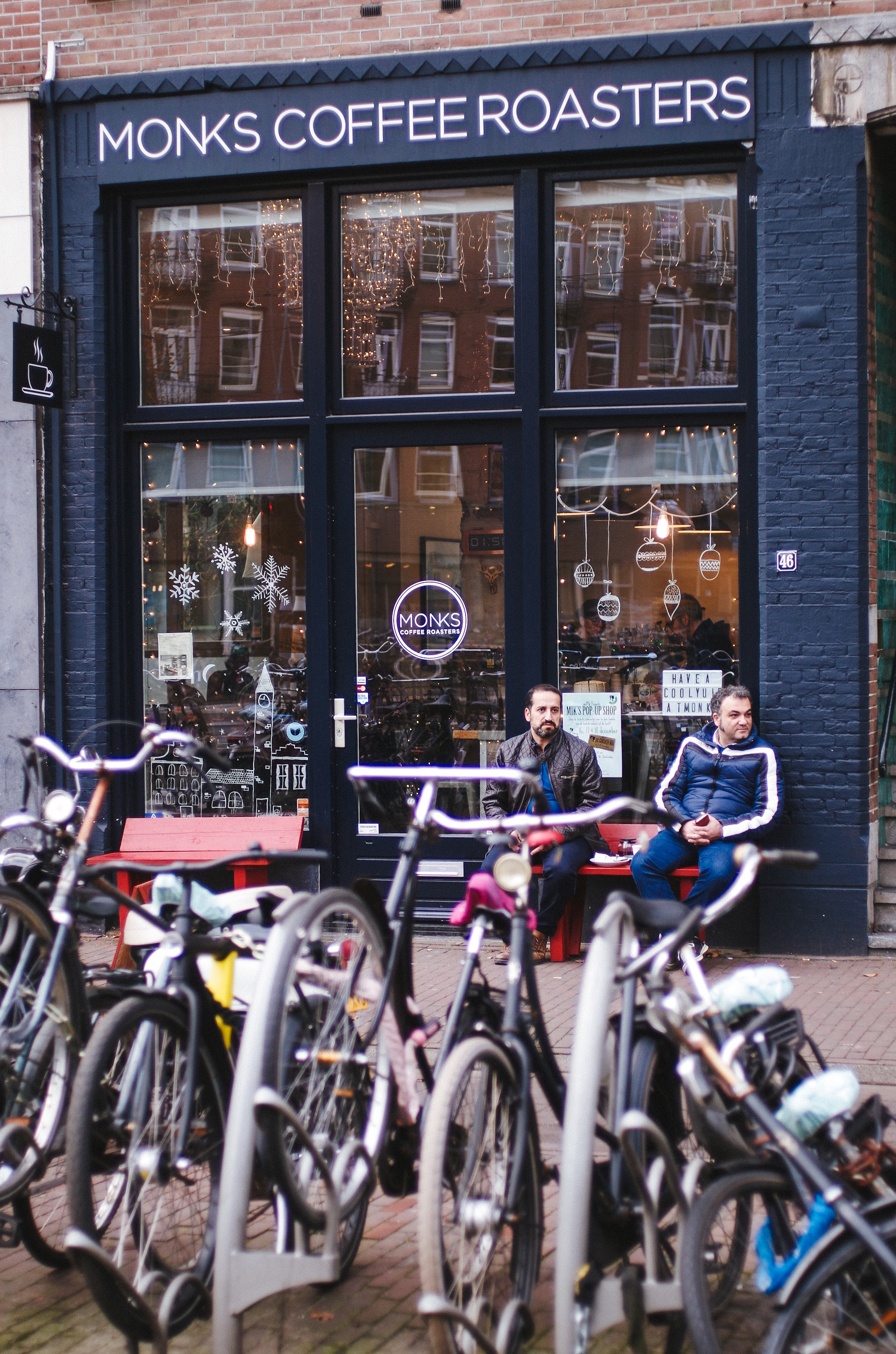 Amsterdam, Monks Coffee Roasters