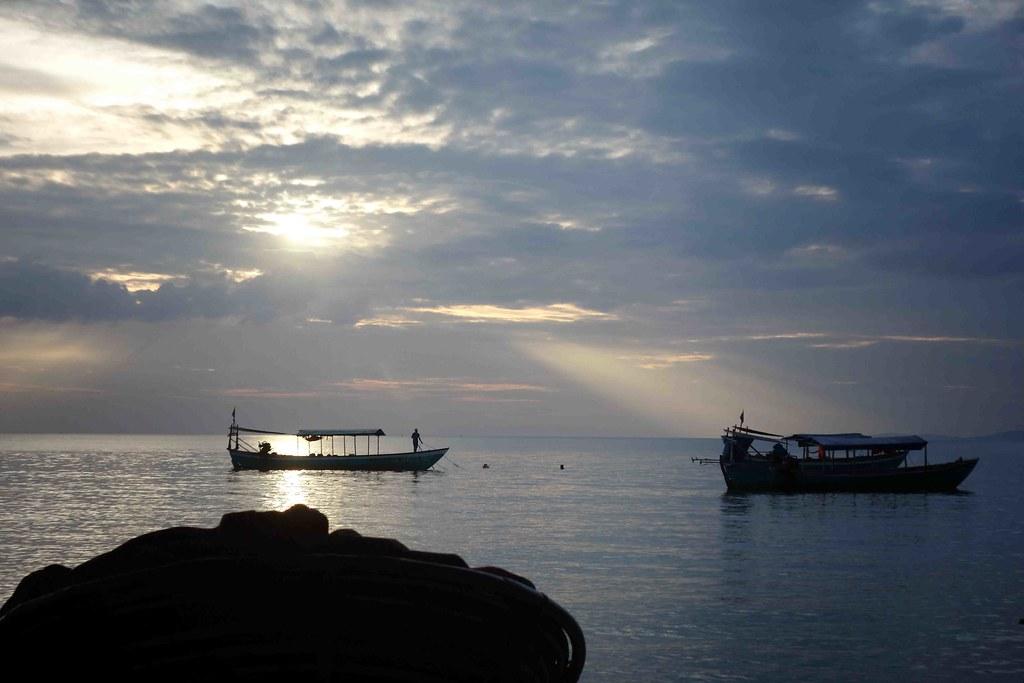Otres Beach Boats 2
