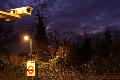 Woodside Park station and CCTV