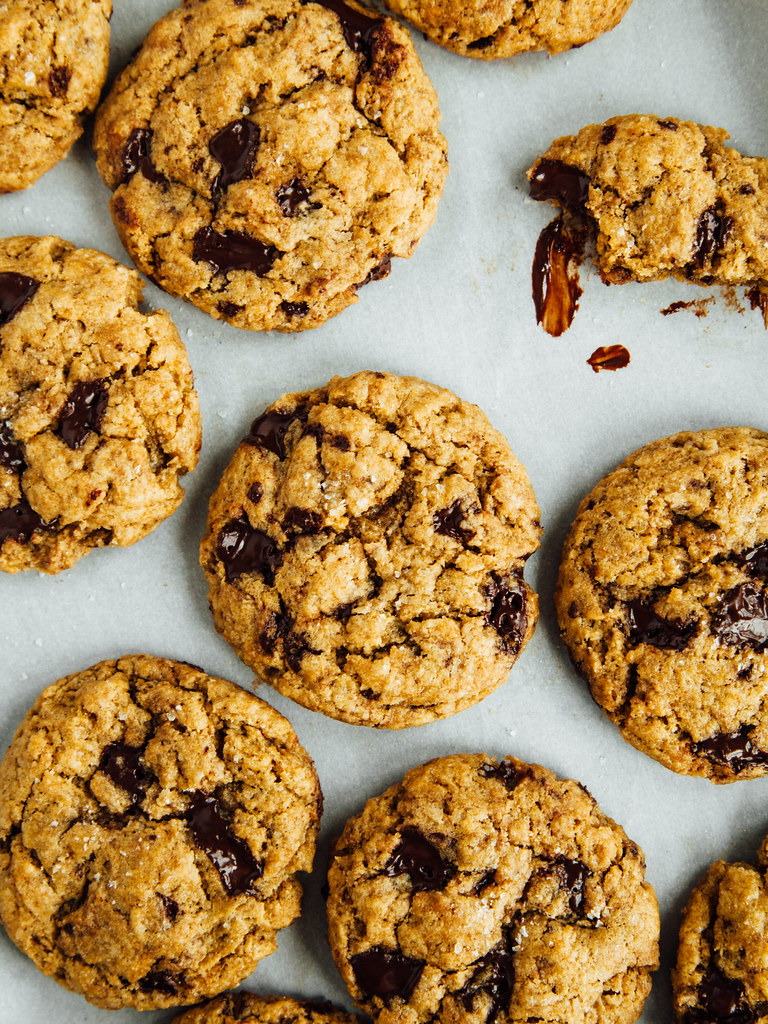 Chocolate chunk cookies from a mix