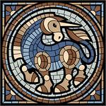 Mosaic Unicorn / Мозаичный единорог