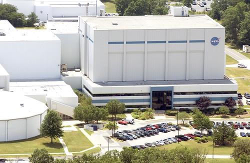 NASA's Goddard Space Flight Center | Aerial view of NASA's ...