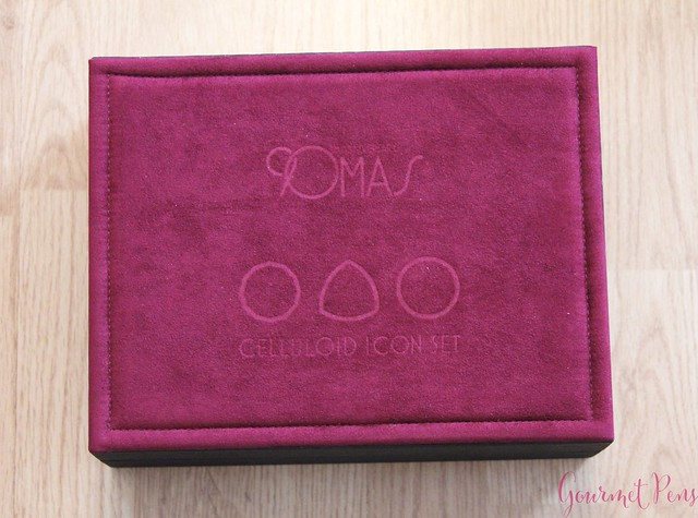 Review 90th Anniversary Omas Icons Celluloid Collection Set @PapierundStift 78