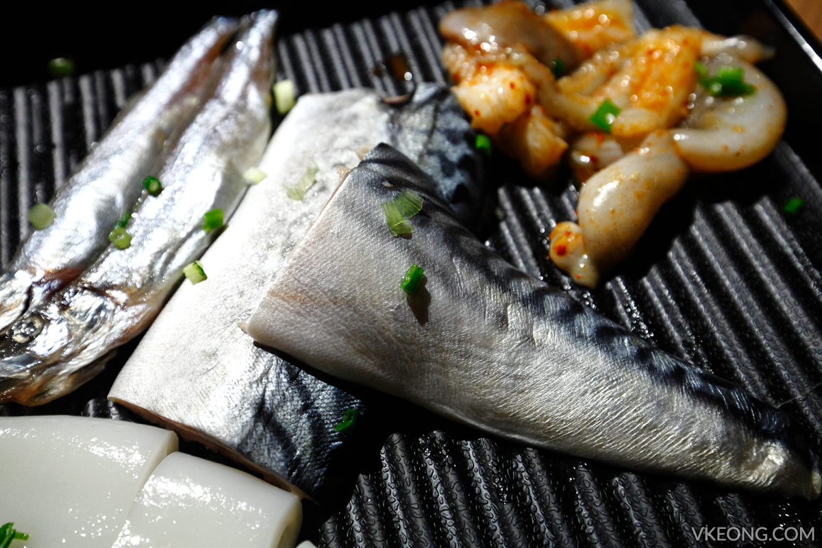 KG Korean Charcoal BBQ Buffet Horse Mackerel