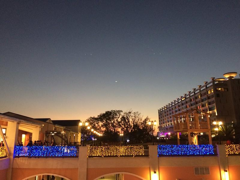 麗寶Outlet Mall 夕陽