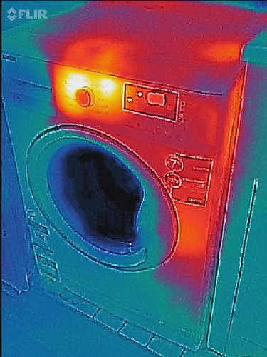 FlirONE Thermal Camera Test photos