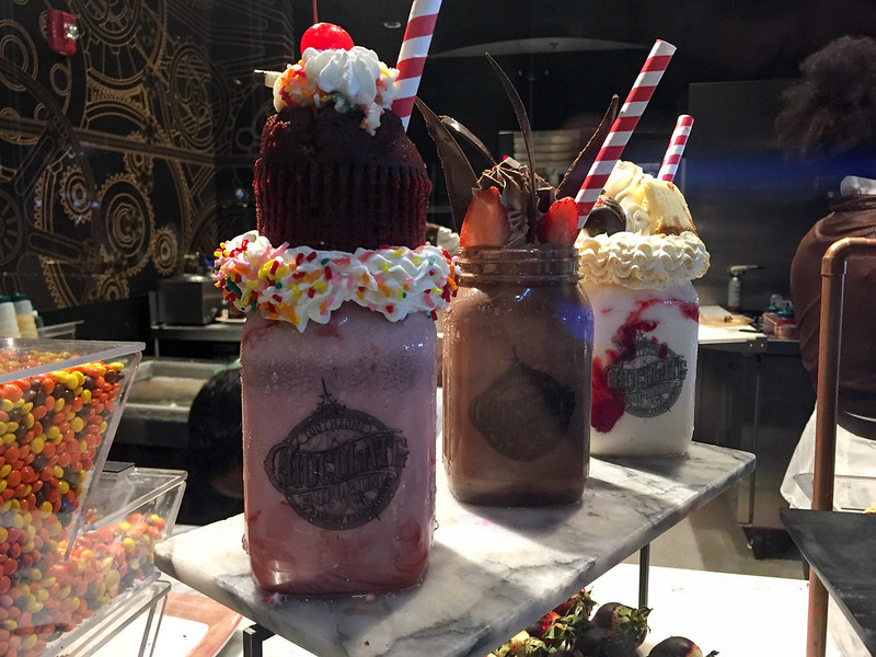 Milkshakes at Toothsome Chocolate Emporium & Savory Feast Kitchen
