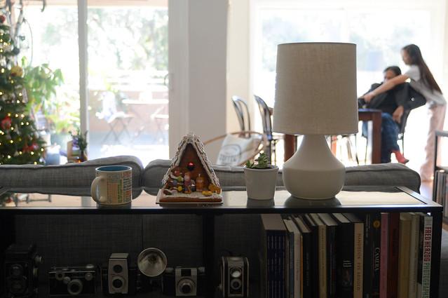 coffee & gingerbread house