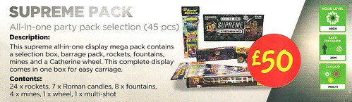 £50 ASDA PRICE - Supreme Party Pack by TNT Fireworks
