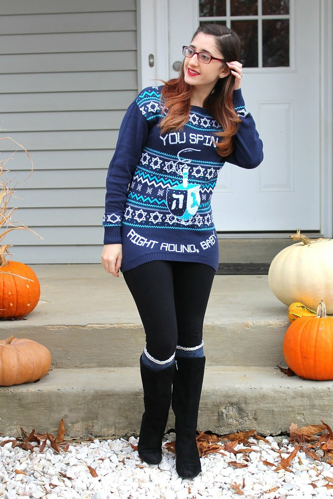 Ugly Chanukkah sweater