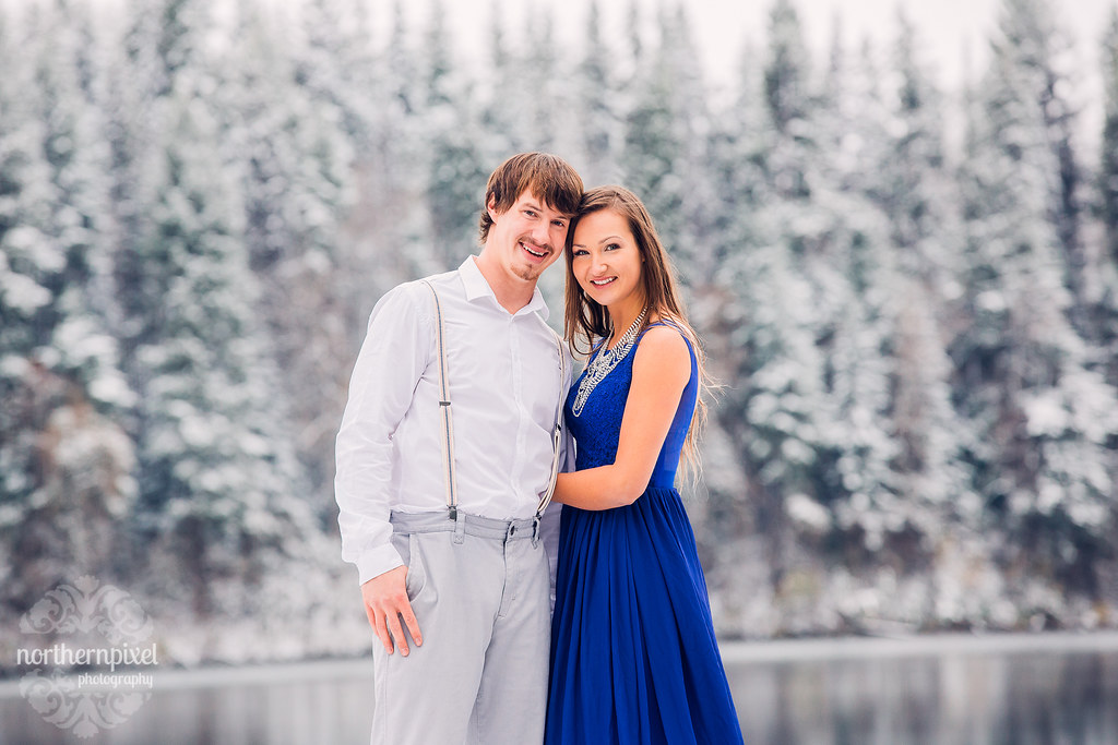 Winter Engagement - Prince George BC