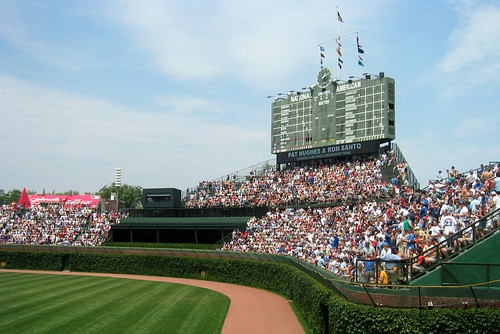 Chicago: Wrigley Field - Outfield Bleachers | by wallyg