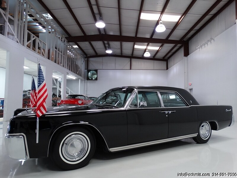1962 LINCOLN CONTINENTAL PRESIDENTIAL TOWN LIMOUSINE JFK