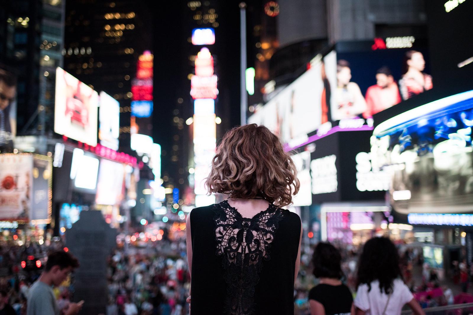 Times Square in Jaelle on juliettelaura.blogspot.com
