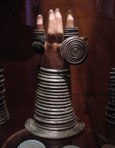 Irish prehistoric museum showing off some 12th century jewelry