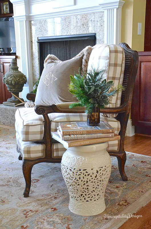 Winter Home Tour-Velvet Pillows-Housepitality Designs