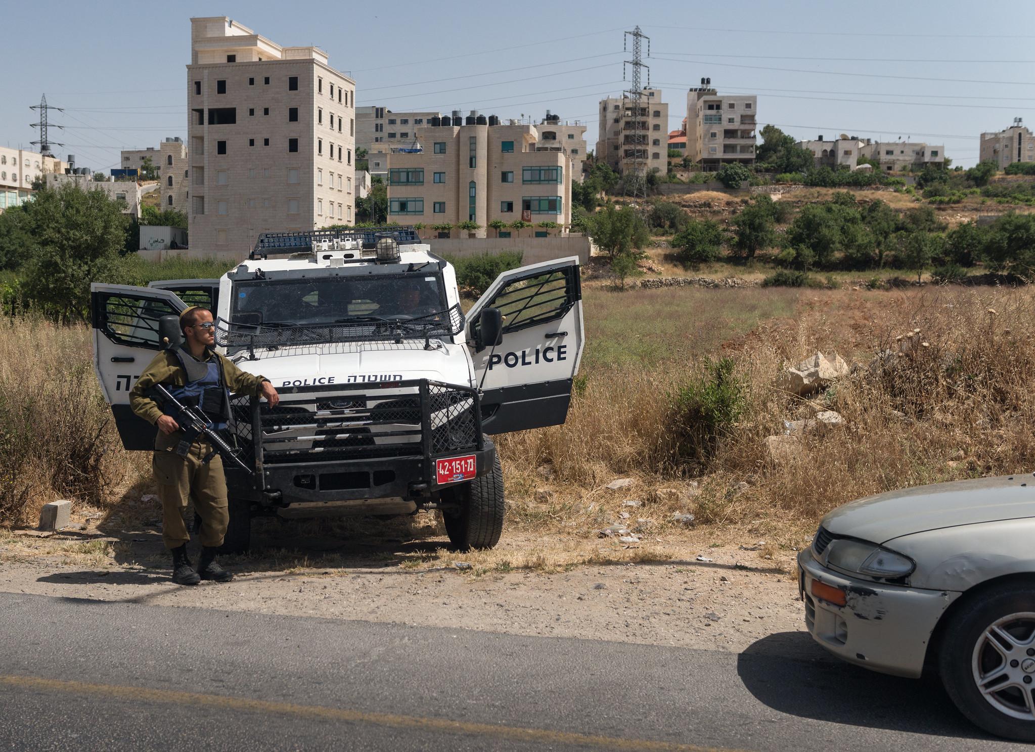 West Bank Roadside Police