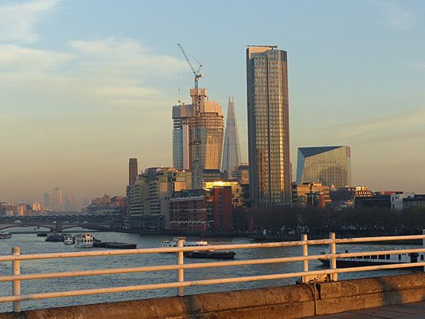 oxo tower et constructions