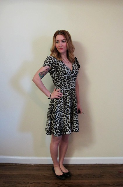 Leopard Silk Simplicity 6266